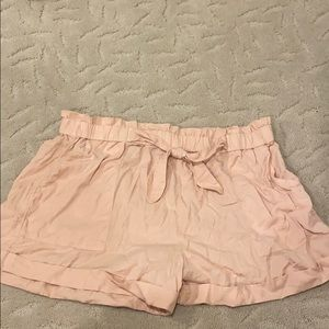 AERIE pink soft shorts, size XL, NEVER WORN